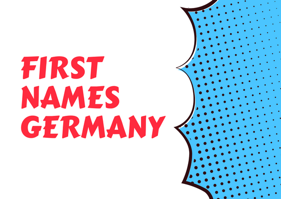 First Names Germany